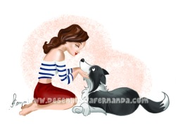 a border collie is made of unconditional love